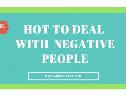 #05 How to Deal with Negative People